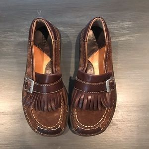 Born brown shoes size 7